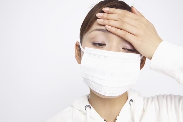 風邪、インフルエンザなどの感染症